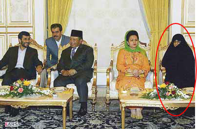 Mr & Mrs Mahmoud Ahmadinejad in Malaysia