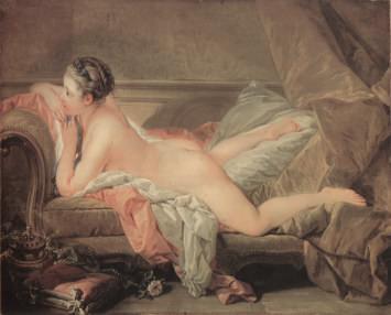 François Boucher's Blonde Oladisque (Louise O'Murphy), 1752