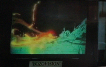 tv screen labeled bozovision