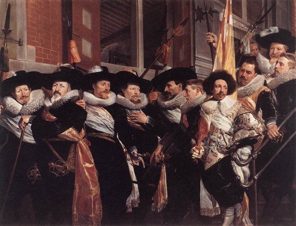 Officieren van de Haarlemse Kloveniersdoelen (Officers of the Haarlem Klovenierdoelen) by Hendrik Gerritsz Pot, 1630