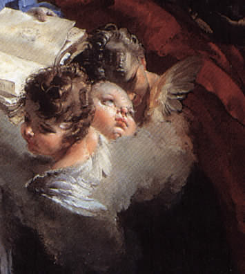 Education of the Virgin by Giambattista Tiepolo