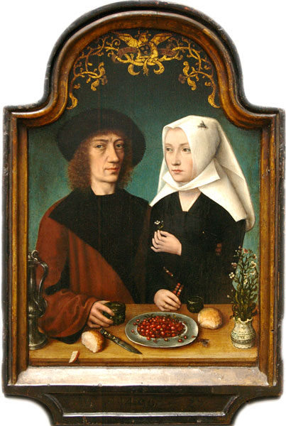 De schilder en zijn vrouw. The Painter and His Wife