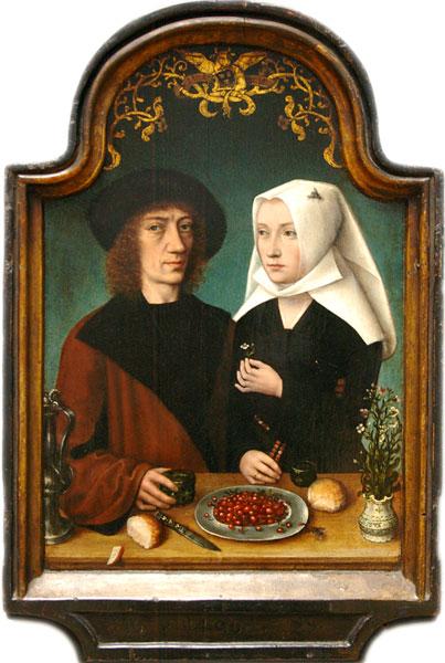 De schilder en zijn vrouw. The Painter and His Wife