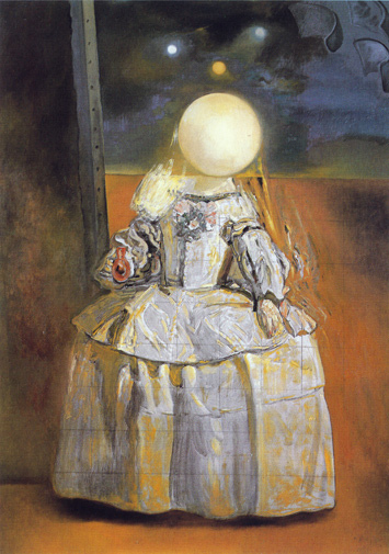 Salvador Dali's The Pearl after Diego Velazquez's Las Meninas