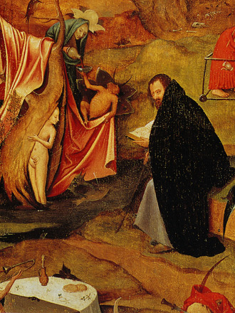 Temptations of Saint Anthony (right panel) by Hieronymous Bosch