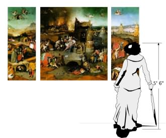 scale of Temptations of Saint Anthony by Hieronymous Bosch