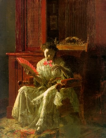 Kathrin Crowell by Thomas Eakins 1872
