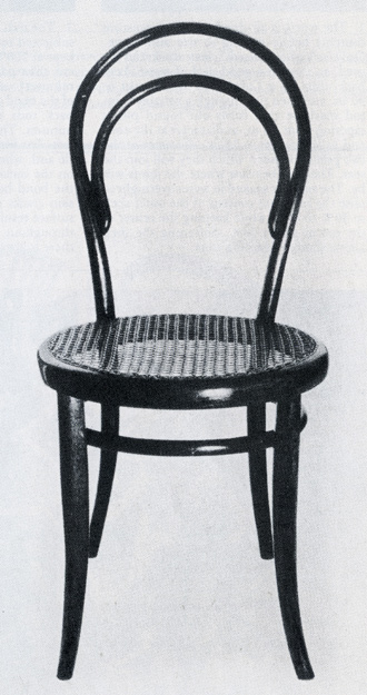 Gebruder Thonet No. 14 bent wood chair, 1859