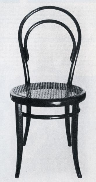 Gebruder Thonet No. 14 bent wood chair, 1859