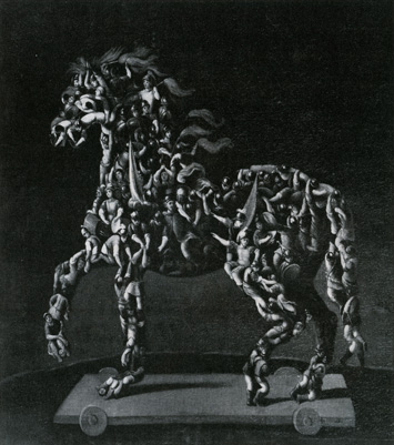 Trojan Horse by Giuseppe Arcimboldo