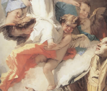 Vision of Saint Anne by Giambattista Tiepolo