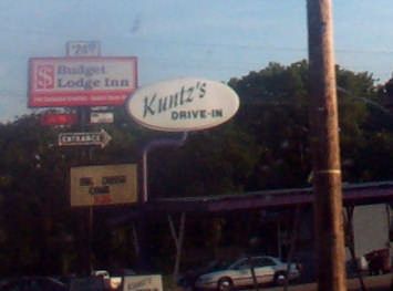 Kuntz's Drive-In at Abilene, Kansas
